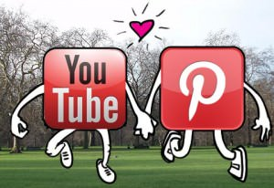 youtube and pinterest