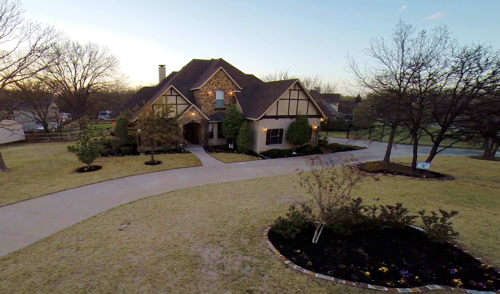 Aerial Real Estate Video Showcases Beautiful Country Setting