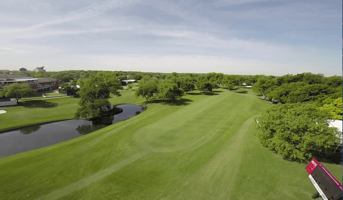 Colonial Aerial Video Footage Featured on CBS Sports