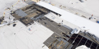 Aerial photography can help assess roof damage or document needed repairs